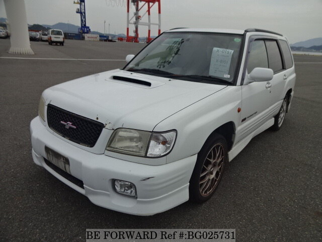 used 2001 subaru forester s tb sti 2 gf sf5 for sale bg025731 be forward used 2001 subaru forester s tb sti 2 gf