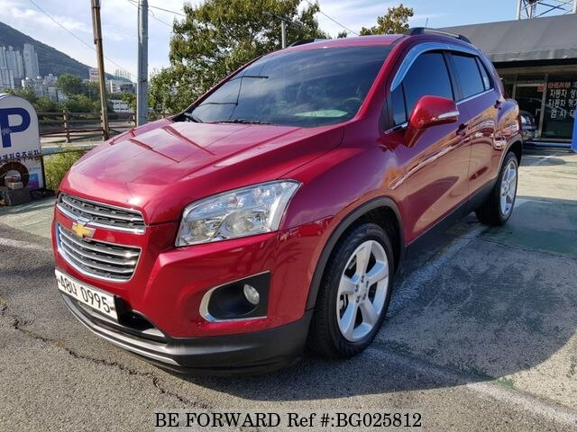 Used 2016 Chevrolet Trax For Sale Bg025812 Be Forward