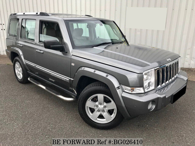 used 2007 jeep commander auction grade 4 5 auto diesel for. Black Bedroom Furniture Sets. Home Design Ideas