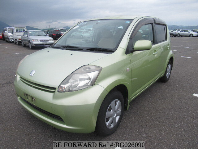 Used 2004 TOYOTA PASSO G F PACKAGE/DBA-QNC10 for Sale BG026090 - BE