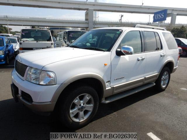 Used 2005 Ford Explorer Eddie Bauer Gh 1fmwu74 For Sale Bg026302 Be Forward
