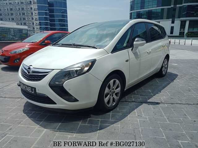 16556ce5539d54 Used 2012 OPEL ZAFIRA for Sale BG027130 - BE FORWARD