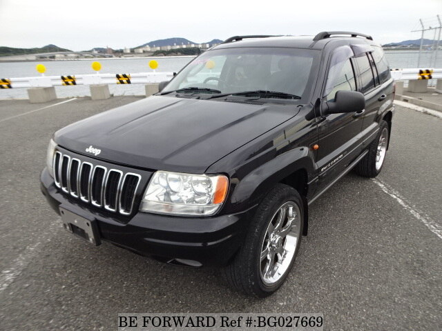 used 2003 jeep grand cherokee/gh-wj47 for sale bg027669 - be forward