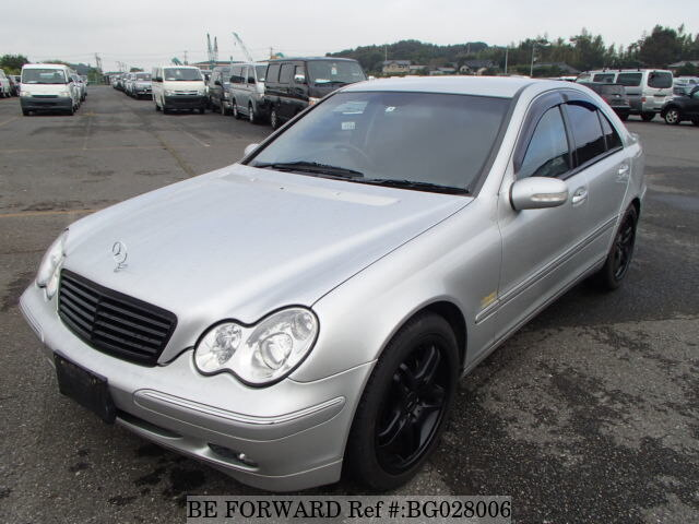 Used 2003 MERCEDES BENZ C CLASS BG028006 For Sale Image ...