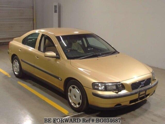 used 2003 volvo s60 la rb5244 for sale bg034687 be forward rh beforward jp 2003 Volvo S60 Reliability 2003 Volvo S60 Interior