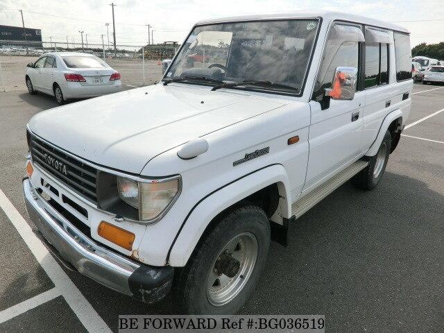 Used 1993 TOYOTA LAND CRUISER PRADO/Q-LJ78W for Sale BG036519 - BE