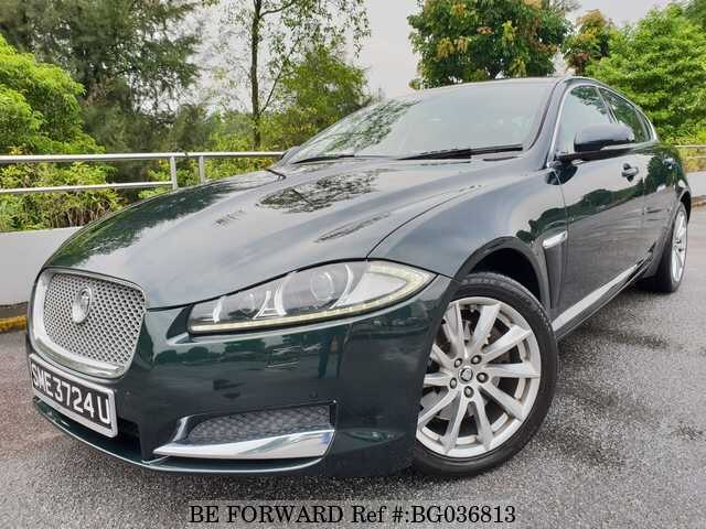 Used 2013 JAGUAR XF BG036813 For Sale