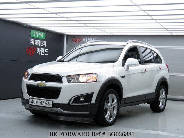 Used 2015 Chevrolet Captivalt For Sale Bg036881 Be Forward