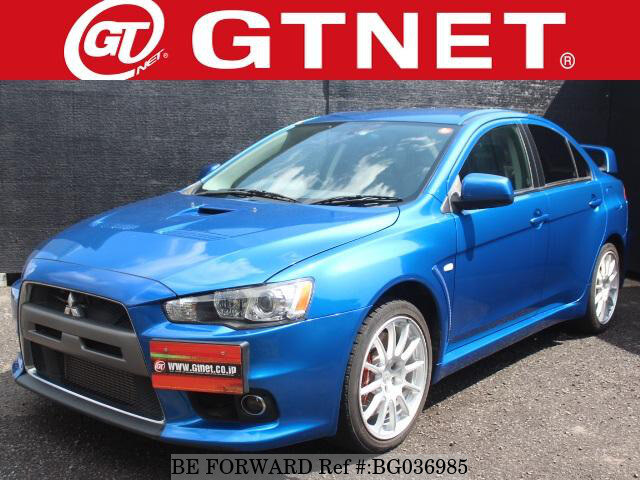 Used 2007 MITSUBISHI LANCER EVOLUTION BG036985 For Sale