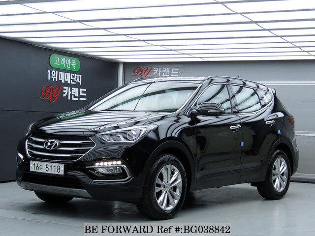 Used 2018 Hyundai Santa Fe Bg038842 For
