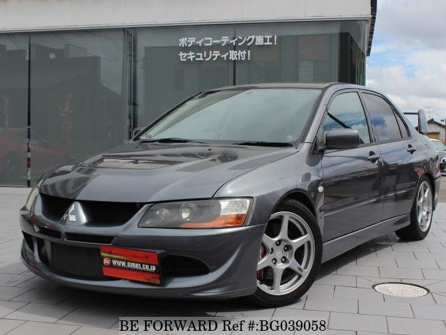 Used Mitsubishi Lancer >> Used 2004 Mitsubishi Lancer Evolution Gh Ct9a For Sale Bg039058 Be
