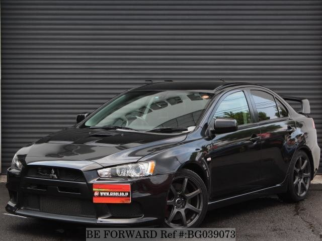 Used 2008 MITSUBISHI LANCER EVOLUTION BG039073 For Sale