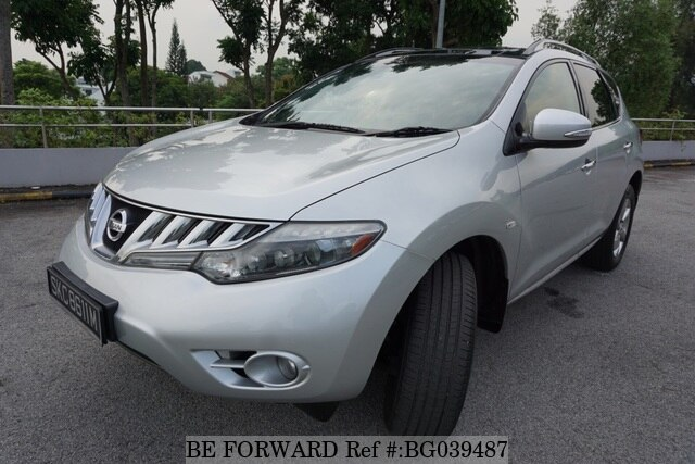 Used 2011 Nissan Murano Skc8611m For Sale Bg039487 Be
