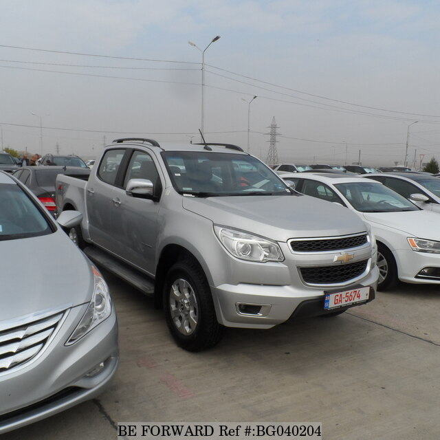 2014 Chevrolet Colorado Usados En Venta Bg040204 Be Forward