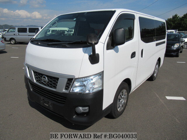 Used 2013 NISSAN CARAVAN VAN BG040033 for Sale