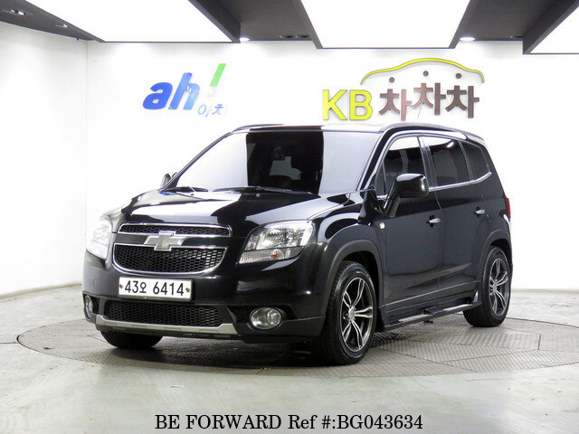Used 2012 Chevrolet Orlandoltz For Sale Bg043634 Be Forward