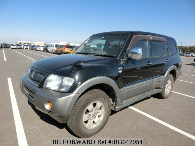 Oryginał Used 2004 MITSUBISHI PAJERO LONG EXCEED 1/KH-V78W for Sale LI48