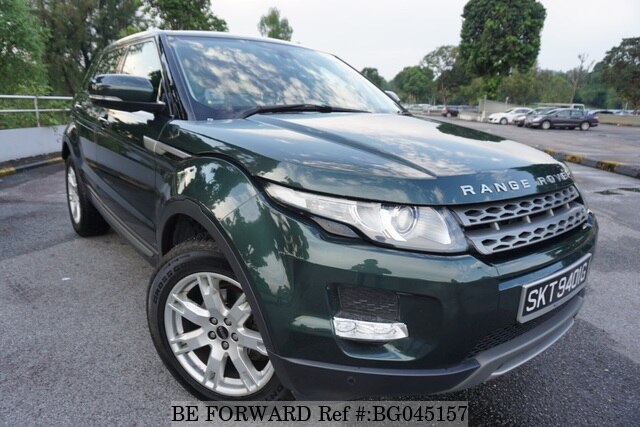 Used 2011 Land Rover Range Rover Evoque Skt9401g Si4 Sr For Sale