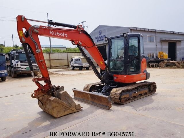 Used 2017 KUBOTA KX57 BG045756 for Sale