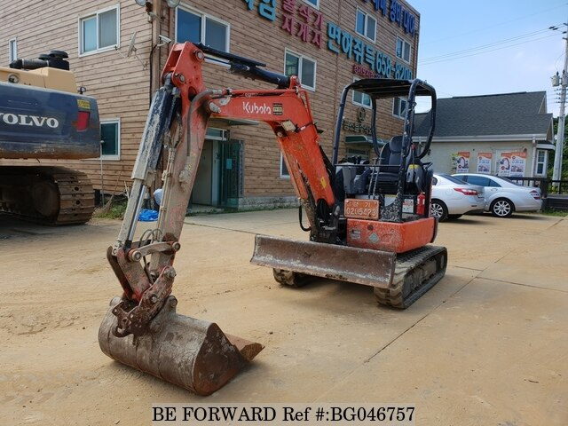 Used 2017 KUBOTA U30 BG046757 for Sale