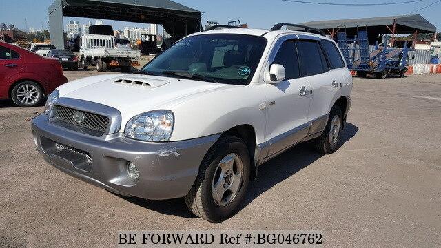 Used 2002 HYUNDAI SANTA FE BG046762 For Sale
