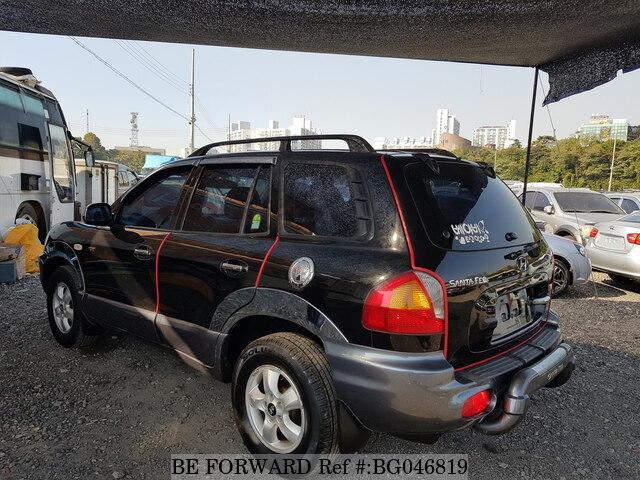 Used 2004 Hyundai Santa Fe For Sale Bg046819 Be Forward