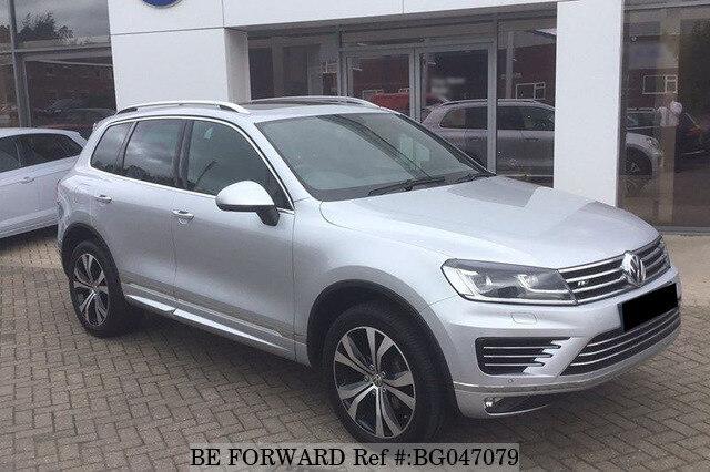 Used 2016 Volkswagen Touareg Bg047079 For