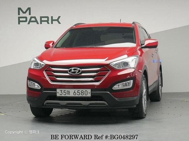 Used 2014 HYUNDAI SANTA FE BG048297 For Sale