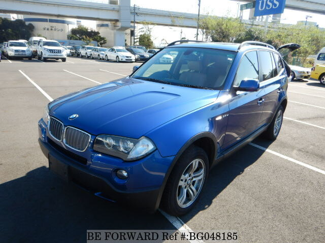 Used 2006 Bmw X3 2 5si Aba Pc25 For Sale Bg048185 Be Forward