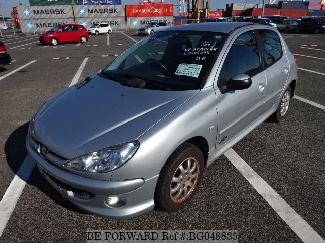 used 2007 peugeot 206 style/gh-t1kfw for sale bg048835 - be forward