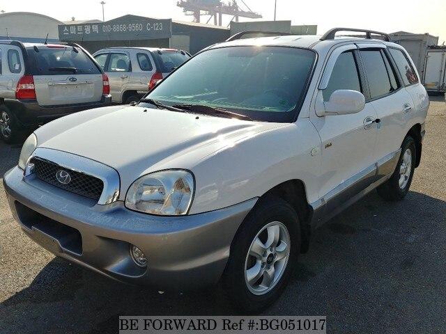 Used 2005 HYUNDAI SANTA FE BG051017 For Sale
