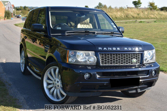 used 2007 land rover range rover sport auction grade 4 5 auto diesel for sale bg052231 be forward. Black Bedroom Furniture Sets. Home Design Ideas