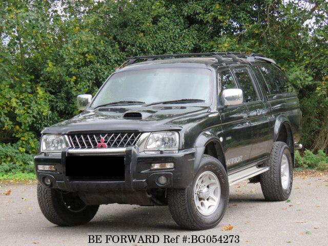 Used 2003 MITSUBISHI L200 AUCTION GRADE 4 0 MANUAL DIESEL