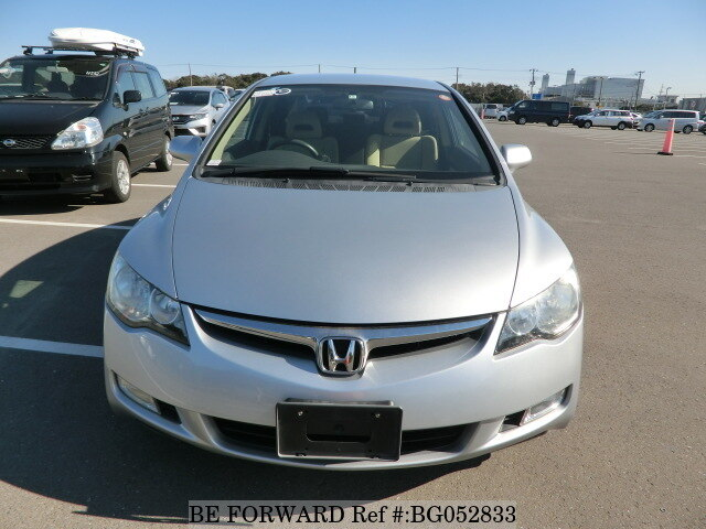 used 2006 honda civic hybrid hybrid mxb daa fd3 for sale bg052833 be forward. Black Bedroom Furniture Sets. Home Design Ideas