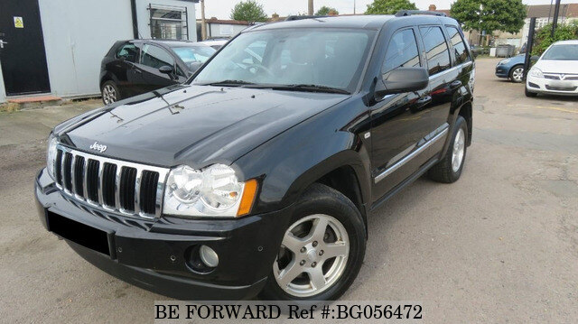 used 2008 jeep grand cherokee auction grade 4 5 auto diesel for sale bg056472 be forward. Black Bedroom Furniture Sets. Home Design Ideas