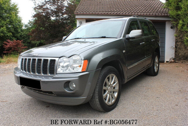 used 2008 jeep grand cherokee auction grade 4 0 auto diesel for sale bg056477 be forward. Black Bedroom Furniture Sets. Home Design Ideas