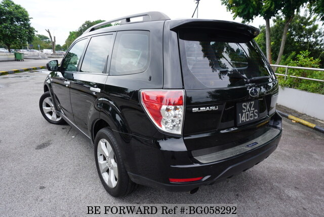 Used 2009 SUBARU FORESTER SKZ1405S/2X-TURB0 for Sale BG058292 - BE