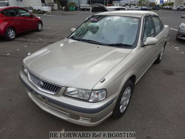 Used 2001 NISSAN SUNNY SUPER SALOON S/TA-FB15 for Sale
