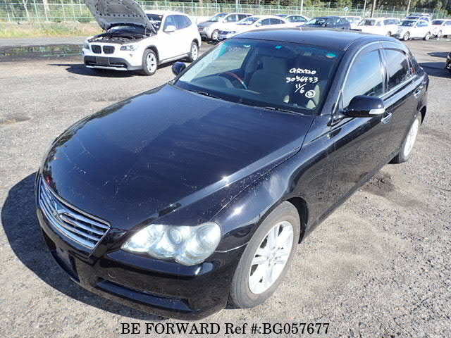 Used 2008 TOYOTA MARK X BG057677 for Sale