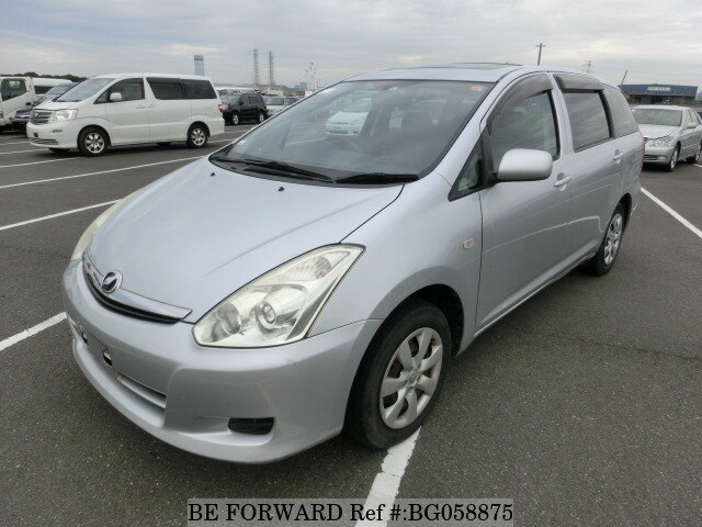 Used 2006 TOYOTA WISH BG058875 for Sale