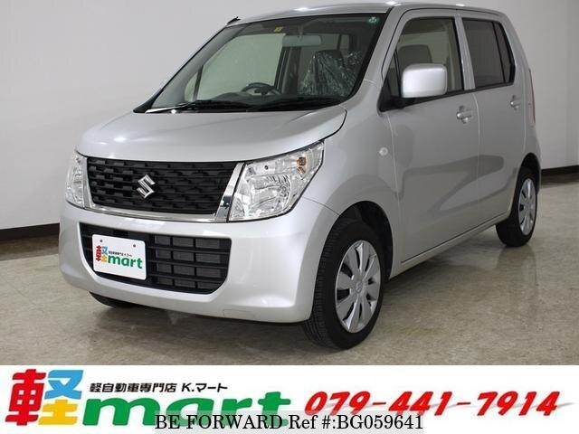 Used 2015 SUZUKI WAGON R BG059641 for Sale