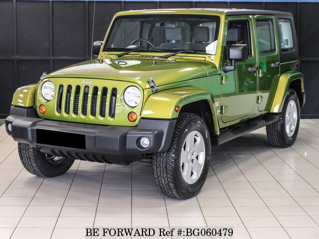 Used 2009 Jeep Wrangler Auction Grade 4 5 Auto Diesel For Sale