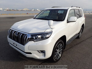 Used 2018 TOYOTA LAND CRUISER PRADO BG059784 for Sale