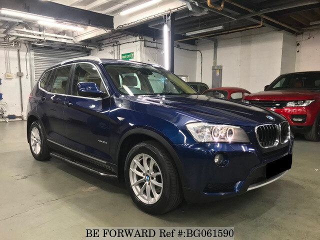 used 2010 bmw x3 auction grade 4 5 auto diesel for sale bg061590 be forward. Black Bedroom Furniture Sets. Home Design Ideas