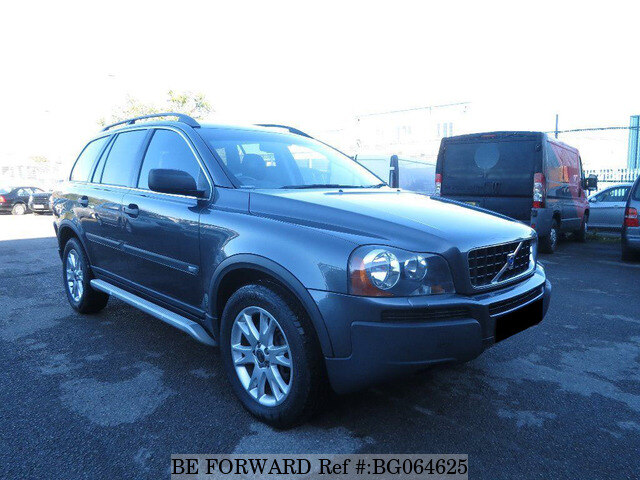 used 2005 volvo xc90 auction grade 4 5 auto petrol for sale bg064625 be forward. Black Bedroom Furniture Sets. Home Design Ideas
