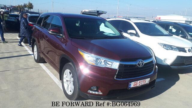 Used 2016 Toyota Highlander For Sale Bg064969 Be Forward