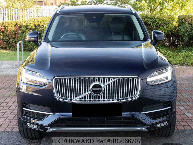 used 2015 volvo xc90 auction grade 4 5 auto diesel for sale bg066707 be forward. Black Bedroom Furniture Sets. Home Design Ideas