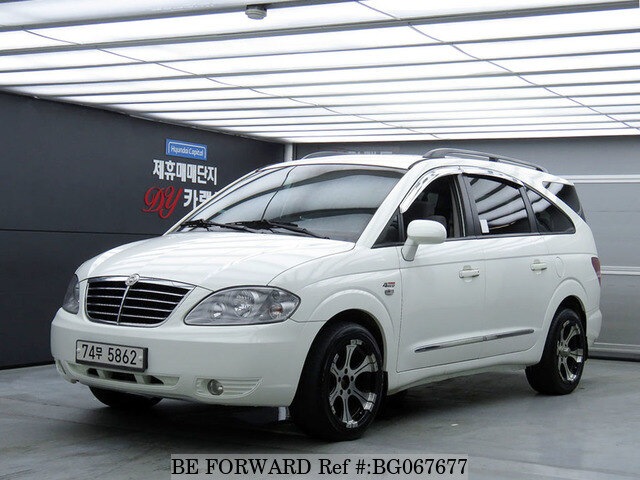 Used 2010 SSANGYONG RODIUS BG067677 for Sale