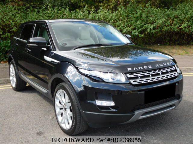 Used 2011 Land Rover Range Rover Evoque Auction Grade 4 5 Auto