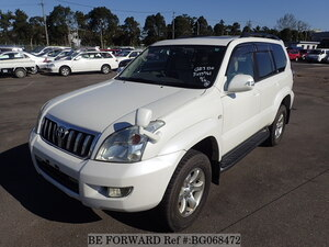 Used 2005 TOYOTA LAND CRUISER PRADO BG068472 for Sale
